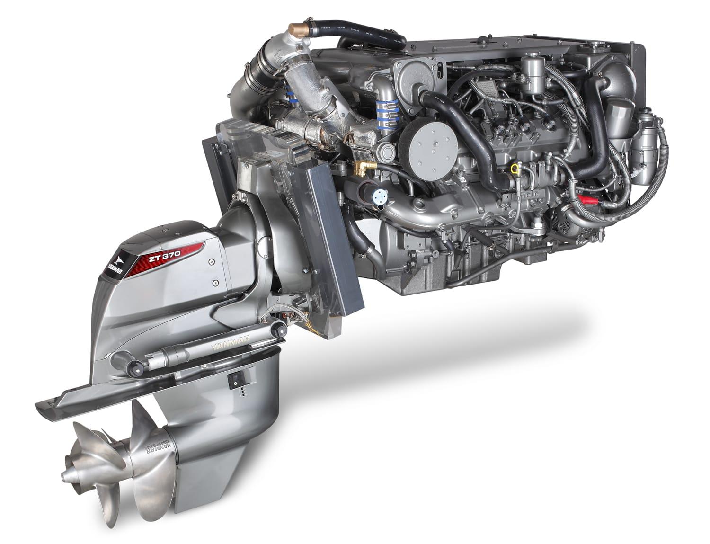 El nuevo motor Yanmar 8LV con cola Z370
